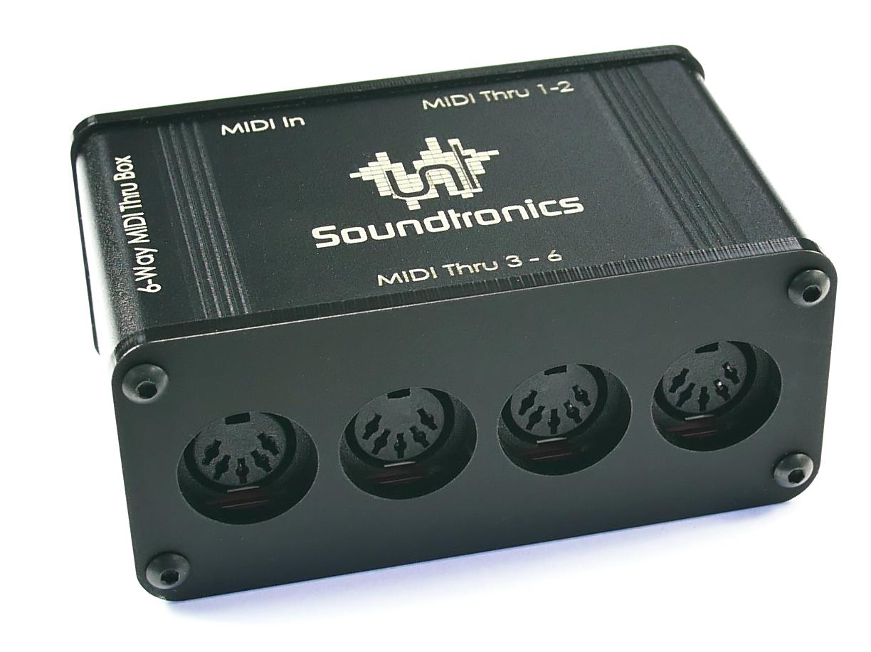 MIDI Thru Box Ports 3 to 6