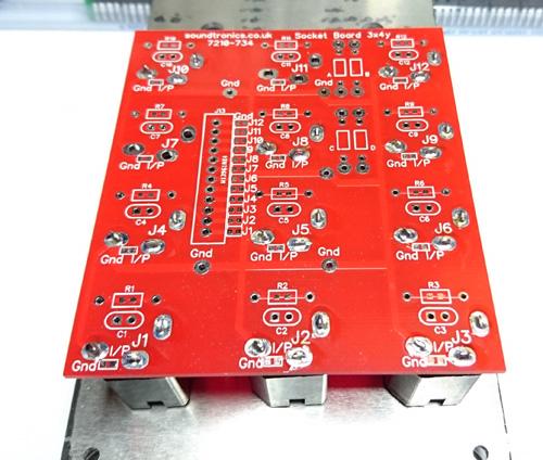 Echo Rockit 1  4 U0026quot  Jack Socket Panel Pcb  31  33x  32 5y