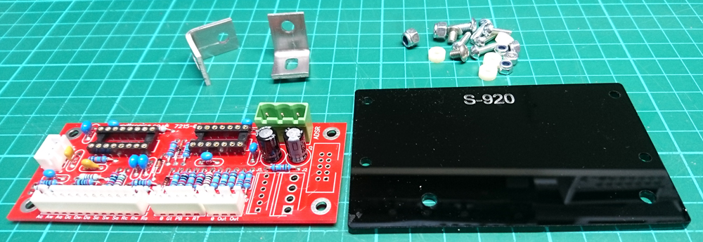 PCB holder parts for the ADSR 3310