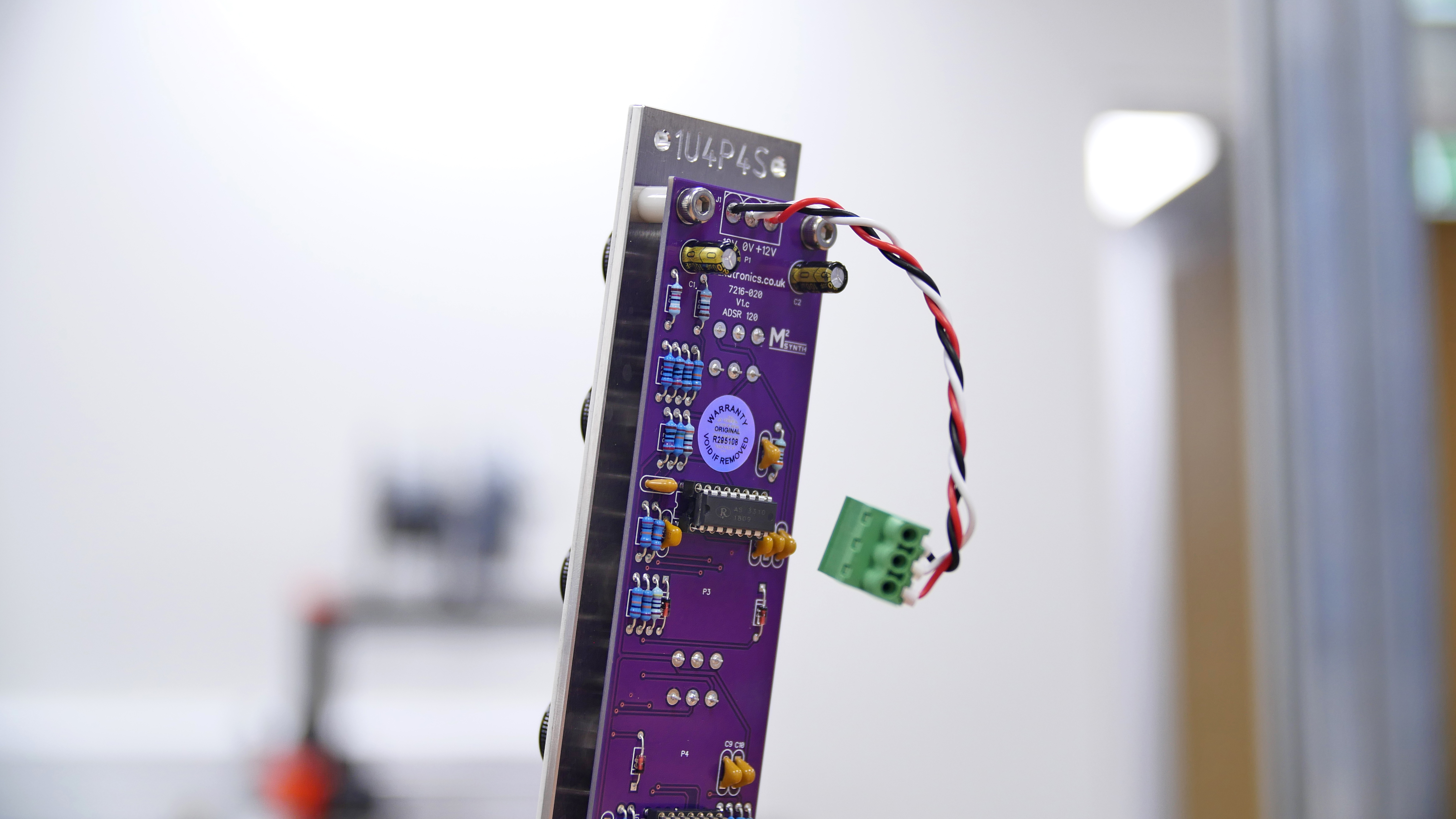 M²Synth module (purple PCB)