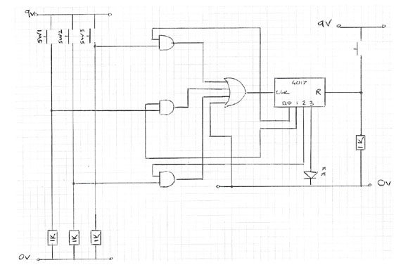 Door Lock Circuit