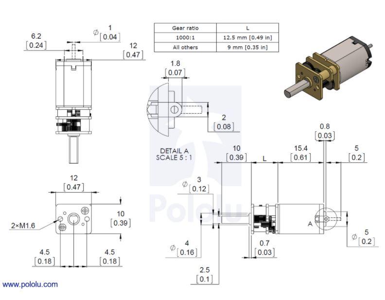 HPCB Dimensions
