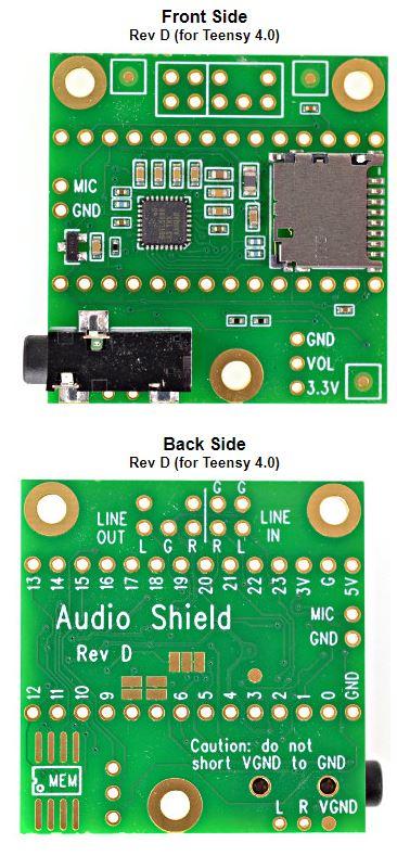 Teensy Audio Adapter PCB