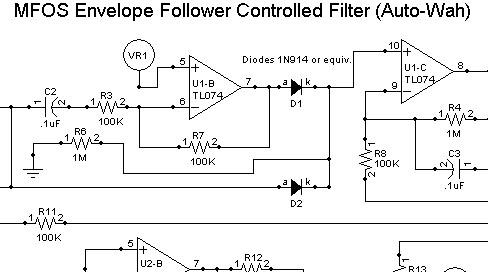 MFOS Guitar Envelope Follower DIY Electronics Parts Kit
