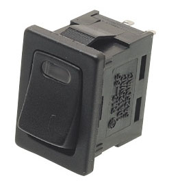 how to connect spst illuminated rocker switch