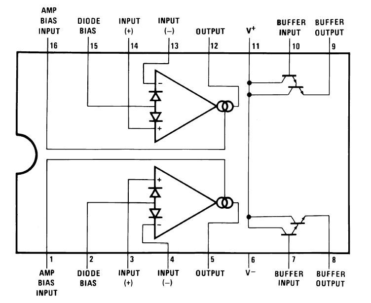 10pcs LM13700 LM13700N INTEGRATED CIRCUIT LM13700N New Good quality