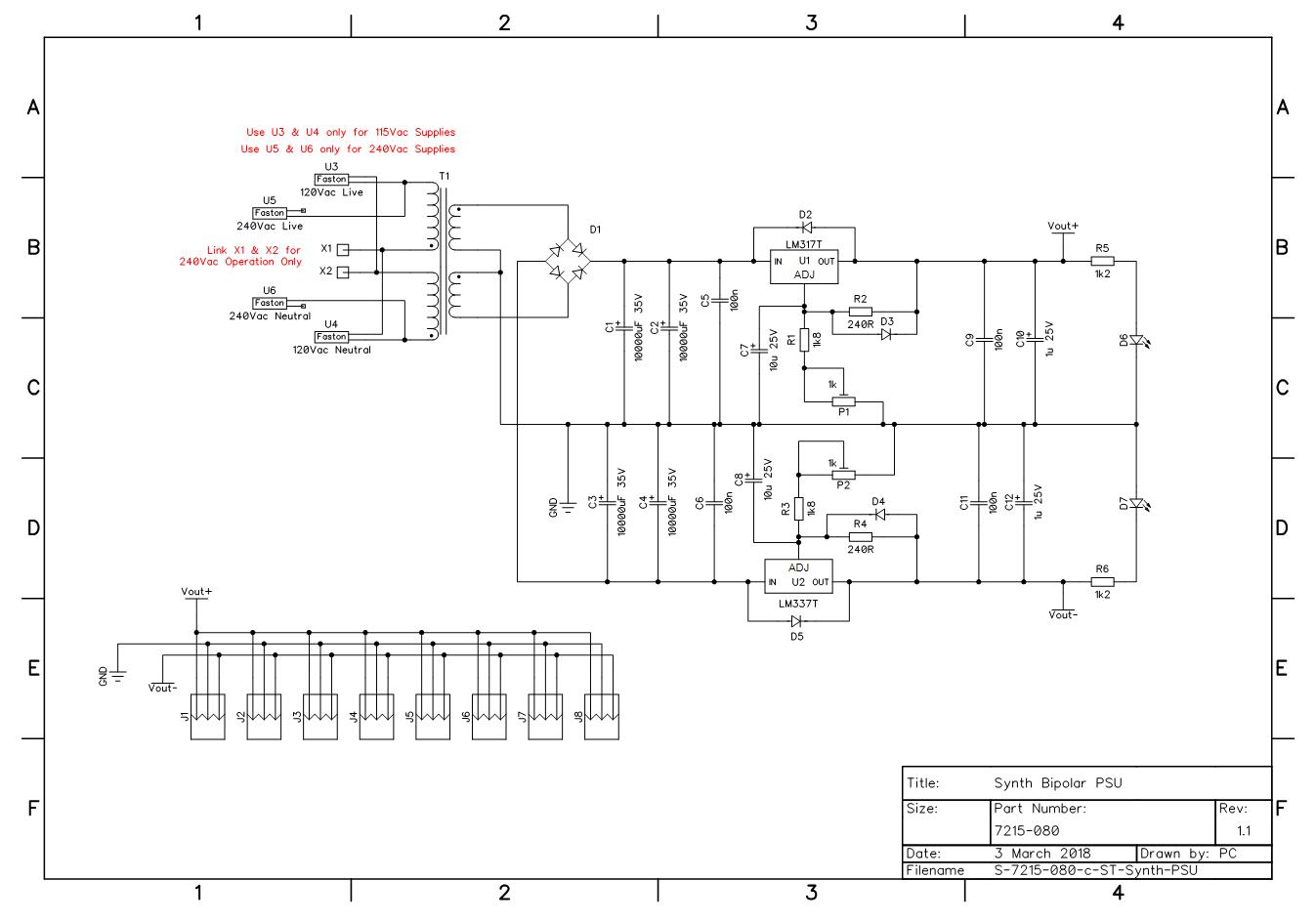 Tv Power Supply Circuit Diagram Powersupplycircuit Circuit