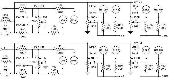 MFOS Stereo Panning Mixer Synth Module DIY Electronics Parts Kit