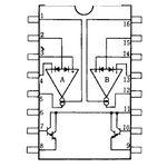 NJM13600D Transconductance Amplifier