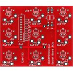 "3x3y 1/4"" Jack Socket Panel PCB (28x 22y Pitch)"