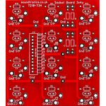 12-way jack socket PCB