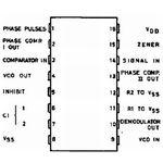 CD4046BE Phase Locked Loop 16-DIP Case