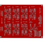 Yusynth Fixed Resonant Filter Bank Module Bare PCB