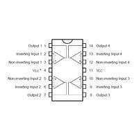 Quad Op-Amp BiFET TL074