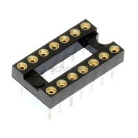 Turned Pin 0.3 inch Dil IC Socket 14 Pin
