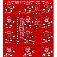 12-way jack socket PCB