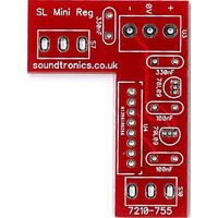 Sound Lab Mini Synth Toggle Switch / Regulator PCB