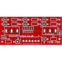 1x2y Toggle Switch Panel PCB (32.5x Pitch)