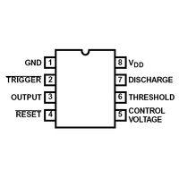 Intersil ICM7555IPA CMOS Low Power Timer 8-DIP Case