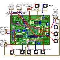 YuSynth VCO panel Wiring