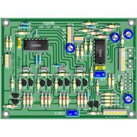 YuSynth ARP Layout using BC557 Matched Transistor Pairs