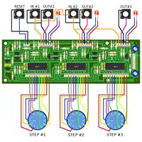 YuSynth Triple Clock Divider Wiring