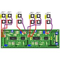 YuSynth Dual Ring Modulator Wiring