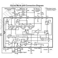 AS3310 ADSR Generator Chip