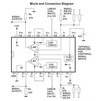 AS3360 Dual VCA Chip