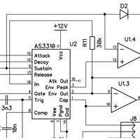 ADSR 3310 kit of parts
