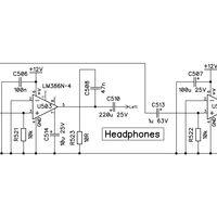 MIDI Ultimate Headphone Amplifier Parts Kit