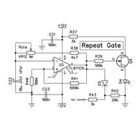 MIDI Ultimate Repeat Gate Parts Kit