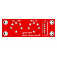 MIDI Socket PCB for the MIDI Ultimate