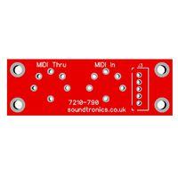 MIDI Socket PCB for the MIDI Ultimate