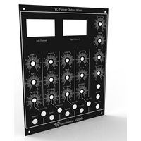 YuSynth VC Panner and Mixer Front Panel