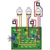 YuSynth Wavefolder Panel Wiring