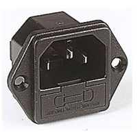 IEC Fused Chassis Inlet Plug 10A