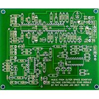 MFOS Voltage Controlled Echo Module Bare PVB