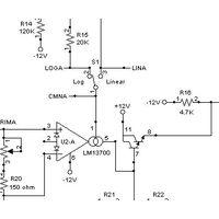 MFOS VCA Log / Lin Synth Module DIY Electronics Parts Kit